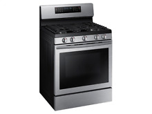 Samsung NX58J7750SS 30  Gas Range True Convection Flex Duo Oven Stainless Steel