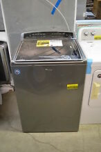 Whirlpool WTW8500DC 28  Chrome Shadow Top Load Washer NOB T2  20517 CLW