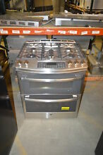GE PGS950SEFSS 30  Stainless Slide In Double Oven Gas Range NOB  21350