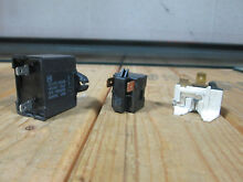 Maytag Refrigerator Compressor Relay Overload   Run Capacitor  Model MSD2454GRW