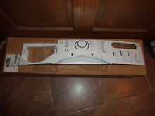 NEW  PLEASE READ Kenmore Washer Control Panel COVER ONLY  8183156