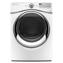 Whirlpool WGD94HEAW 27  White Front Load Gas Dryer NOB  21430 T2