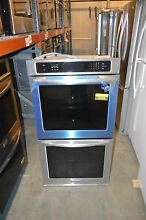 KitchenAid KEBS207BSS 30  Stainless Built In Double Wall Oven NOB  906