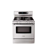 Bosch HGS7282UC 30  Stainless Pro Style Gas Range NOB  21444