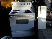 Washer dryer combo Electric Stove Microwave all in excellent condition