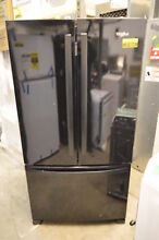 Whirlpool WRF535SWHB 36  Black French Door Refrigerator NOB T2  21934 CLW