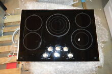 GE CP9530SJSS 30  Black Smoothtop Electric Cooktop NOB  22082
