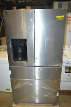 KitchenAid KRMF706ESS 36  Stainless French 5 Door Refrigerator NOB T2  22033