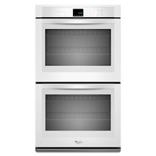 Whirlpool WOD51EC7AW 27  White Electric Double Oven Self Clean NOB T2  22278
