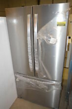 Whirlpool WRF535SMHZ 36  Stainless French Door Refrigerator NOB T2  22277