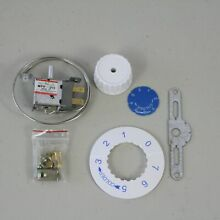 WPF 20 Universal Thermostat 2 pins KIT Freezer Refrigerator with Bracket Dial