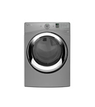 Whirlpool WED87HEDC 27  Chrome Shadow Front Load Electric Dryer NIB T2  22559