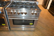 BlueStar BSP366BNG Platinum Series 36  Stainless Natural Gas Range NOB  22736