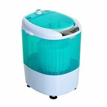 Portable Washer Spin And Dryer Electric Camping Washing Machine Car Travel 5 5lb