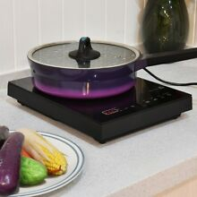 Portable Electric Induction Cooker Burner Digital Touch Control Cooktop 1800w