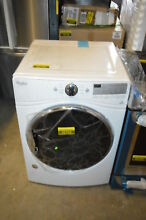 Whirlpool WED92HEFW 27  White Front Load Electric Dryer NOB T2  22702