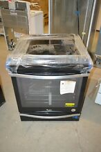 Whirlpool WEE745H0FE 30  Black Ice Slide In Electric Range NOB T2  22791