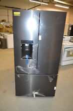 KitchenAid KRFC704FBS 36  Black Stainless French Door Refrigerator T2 CD  22785