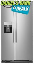 Kenmore 50043 25 Cu  Ft  Side by Side Refrigerator with Water and Ice Dispenser