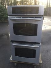 GE Profile  27  Built In Double Convection Thermal Wall Oven   Pickup only