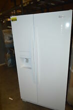 Whirlpool WRS325FDAW 36  White Side by Side Refrigerator NOB  18406 T2 CLW