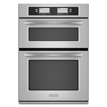 KitchenAid KEHU309SSS 30  Stainless Microwave Combo Wall Oven NIB DEAL