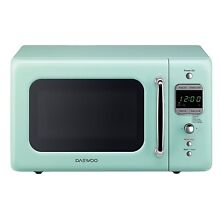 Retro Mint Green Microwave Daewoo Oven Vintage Kitchen Appliances 50s Decoration