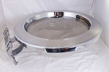 LG TROMM Washer OEM Chrome Door   Hing Assembly from WM2277HS Washer   Working