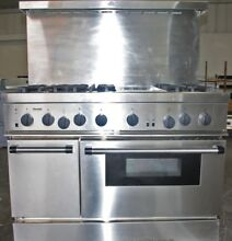 48  Stainless Steel Professional Thermador Gas Range with Convection