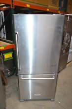 KitchenAid KRBR109ESS 30  Stainless Bottom Mount Refrigerator NOB T2  23494 CLW