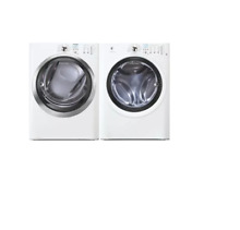 Electrolux EIED55HIW EIFLW50LIW 27  White Front Load Electric Dryer Washer NOB