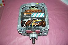 SUPER CLEAN OEM KENMORE WHIRLPOOL WASHER MOTOR WITH COUPLER   8528158 SEE PICTUR