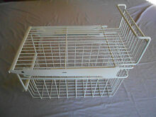 Refrigerator Large Wire Shelf With Pull Out Bin GE Profile Side By Side 30 CUFt