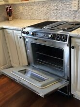 Jenn Air  Stainless Steel 30 in  slide in electric range Model S105 S125