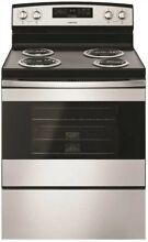 Whirlpool 3552737 Amana 4 8 Cu  Ft  Free St ing Electric Range