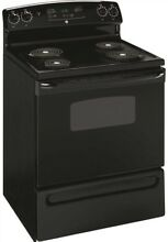 GE 1505181 30 Inch 5 Cu Ft  Free Standing Electric Range  Black