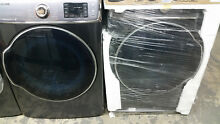 Samsung washer WF56H9100AG and gas dryer DV56H9100GG set