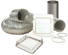 Everbilt 3571145 Dryer Vent Kit  Includes  4 In  X 8 Ft
