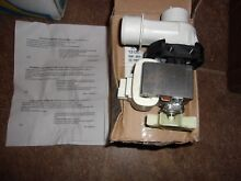 131268401 FRIGIDAIRE WASHER DRAIN PUMP ASSEMBLY  NEW PART