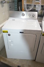Maytag MEDC215EW 29  White Front Load Electric Dryer NOB  24028 CLW