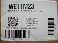 BRAND NEW  GE OEM DRYER HEATING ELEMENT AND HOUSING WE11M23
