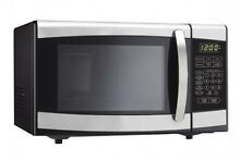 Microwave Oven Danby 0 7 Cu Ft Stainless Steel For Dorm Apt Or Small Space