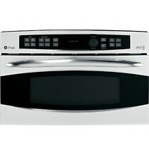 GE Profile Series PSB1201NSS 30  Single Wall Speed Oven  Convection Bake