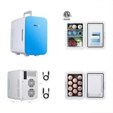 Cooler Electric Mini Car Fridge Warmer Portable Refrigerator 12v Travel Can Camp