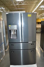 Samsung RF28JBEDBSG 36  Black Stainless French 4 Door Refrigerator NOB  24502 HL