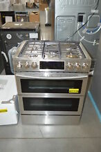 Samsung NX58K9850SS 30  Stainless Slide In Gas Range NOB  24509 HL