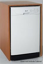 AVANTI DW18D0WE WHITE BUILT IN 18 INCH DISHWASHER 2 CLEANING