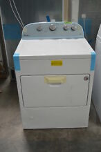 Whirlpool WGD49STBW 29  White Front Load Gas Dryer NOB  24440 HL