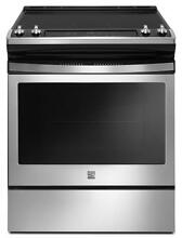 Kenmore 95113 4 8 cu  ft  Self Clean Front Control Electric Range in