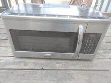 Frigidaire Gallery 30 in  1 7 cu ft  Over the Range Microwave   Stainless Steel